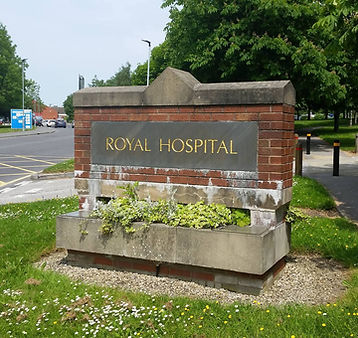 Chesterfield Royal Hospital entrance
