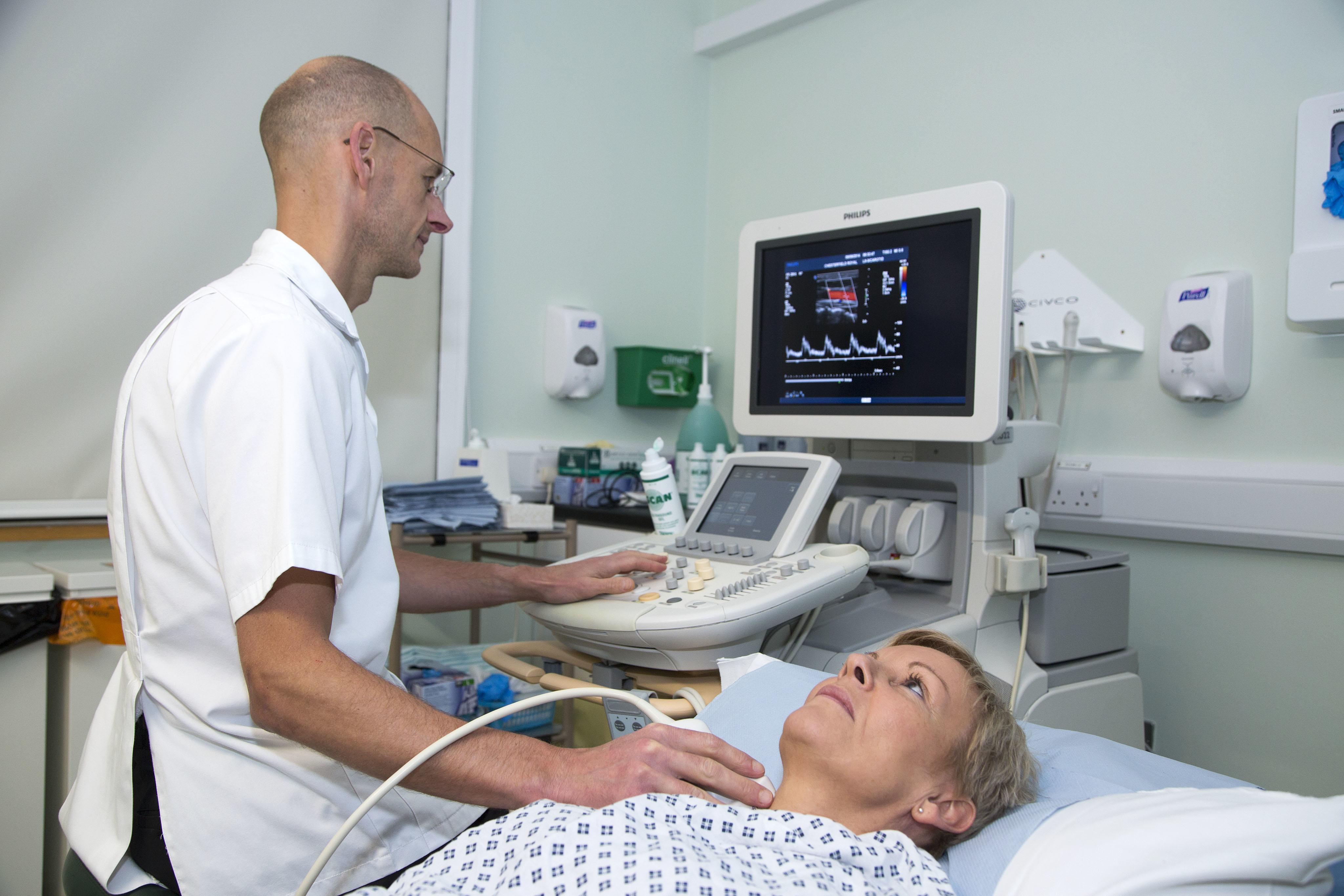 Ultrasound examination