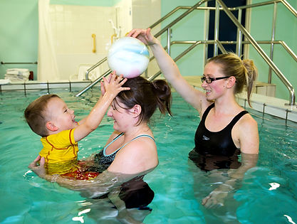 Physiotherapy - hydrotherapy at Chesterfield Royal