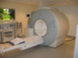 MRI scanner at Chesterfield Royal