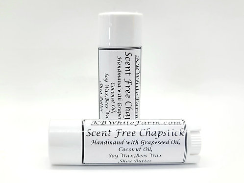 Scent Free Chapstick