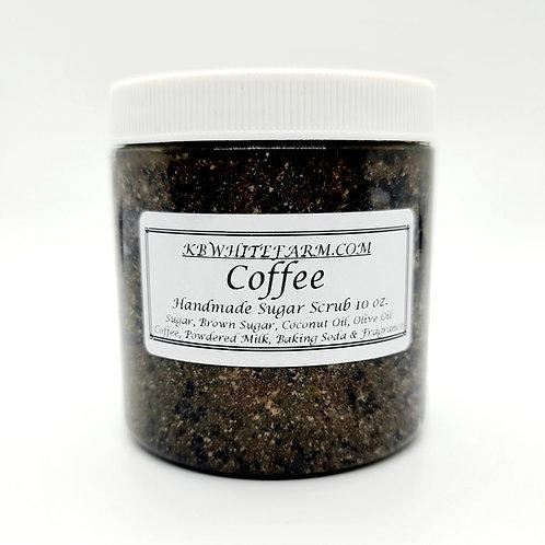 Coffee & Sugar Scrub 10 oz.