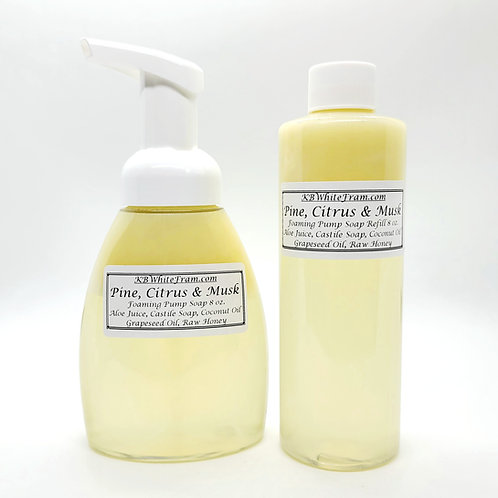 Pine, Citrus & Musk Foaming Pump Soap 8 oz.