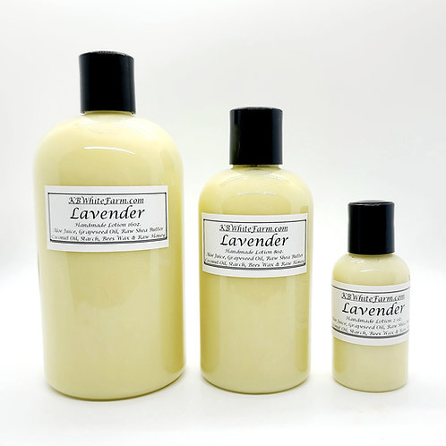 Lavender Lotion Travel Size 2oz.