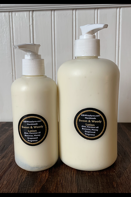Handmade Sweet & Woody Lotion