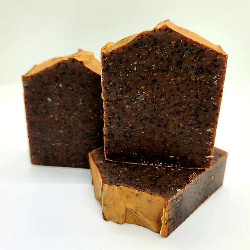 Espresso Latte Scrub Large Bar Soap