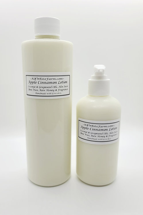 Apple Cinnamon Lotion Small 8oz.