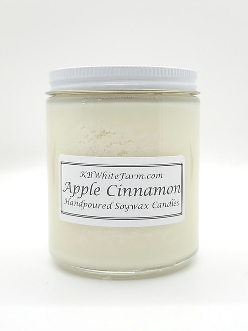 Apple Cinnamon Soywax Candle 9oz.