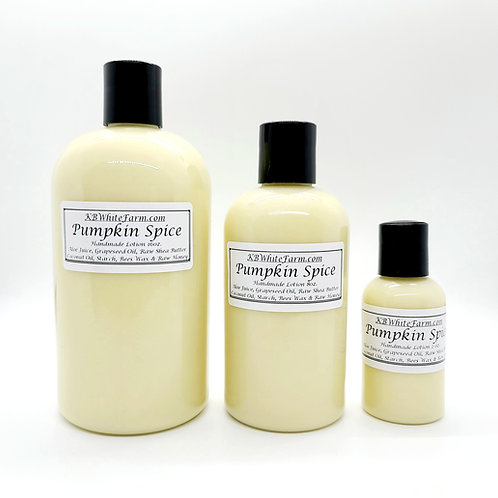 Pumpkin Spice Lotion Small 8oz.