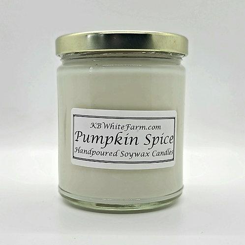 Pumpkin Spice Soywax Candle 9oz.