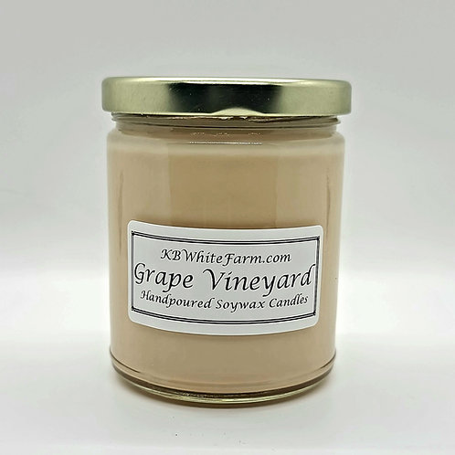 Grape Vineyard Soywax Candle 9oz.