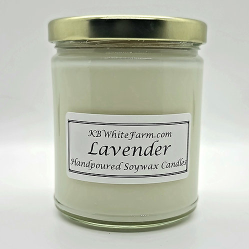 Lavender Soywax Candle 9oz.