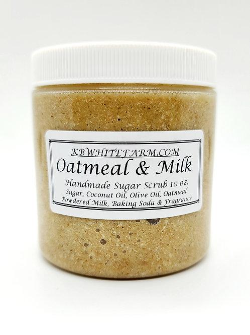 Oatmeal & Milk Sugar Scrub 10 oz.