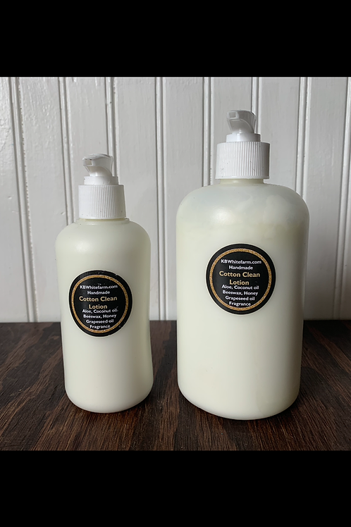 Handmade Cotton Clean Lotion
