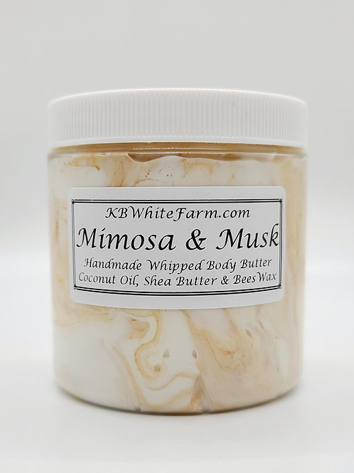 Mimosa & Musk Whipped Body Butter