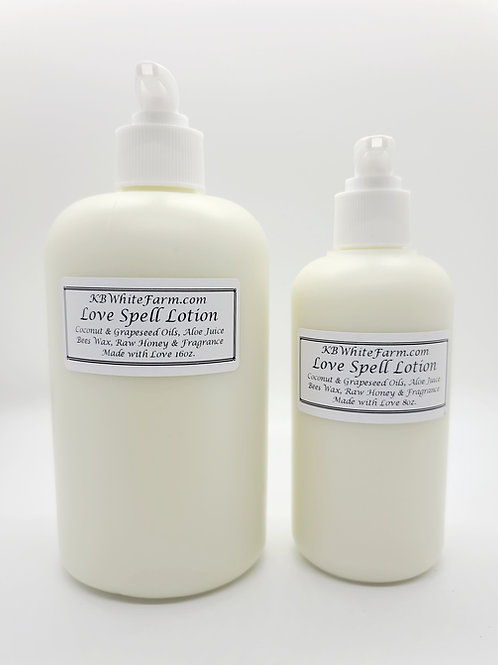 Love Spell Lotion large 16oz.