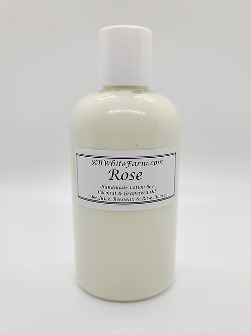 Rose Lotion Small 8oz.
