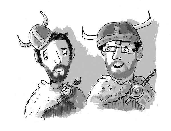 How to create a Viking ...!