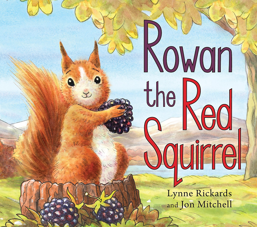 Rowan the Red Squirrel, Picture Kelpies