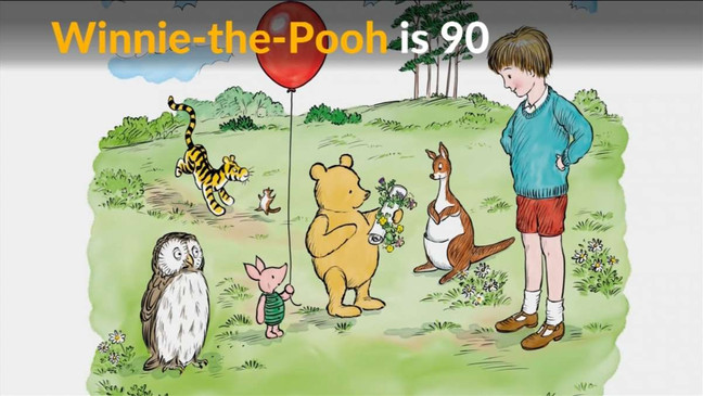 Happy Birthday Pooh - 90 Years Young!