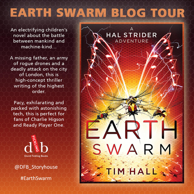 The Machines are Coming as The Earth Swarm Blog Tour launches ...