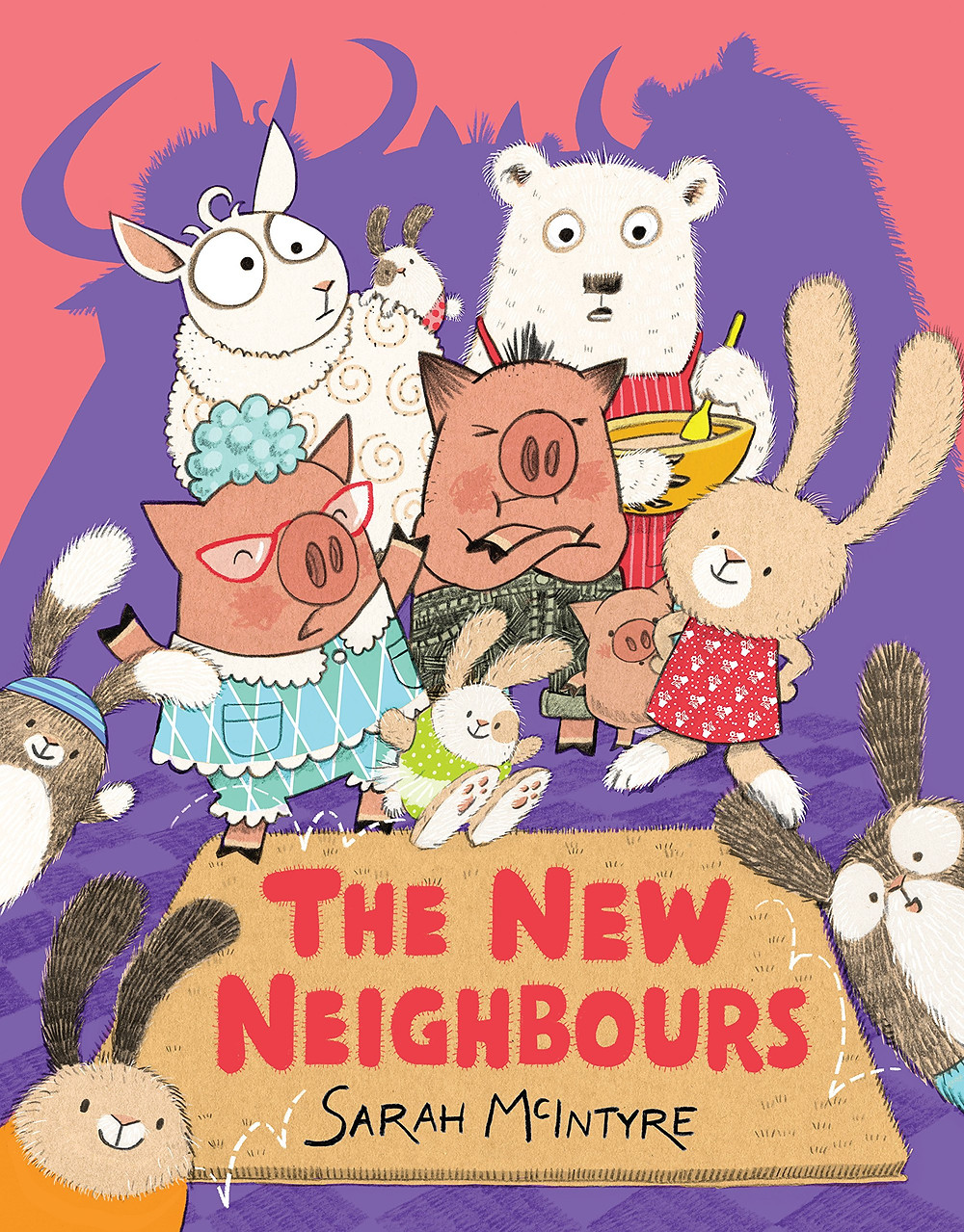 The New Neighbours, David Fickling Books