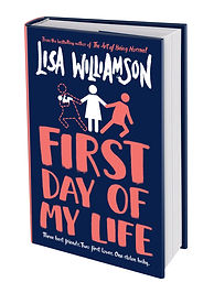 First Day of My Life Dustjacket 3D Cover