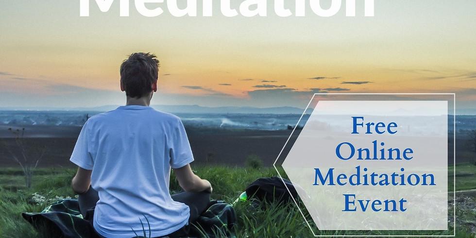 Online Meditação aos Domingos!😊