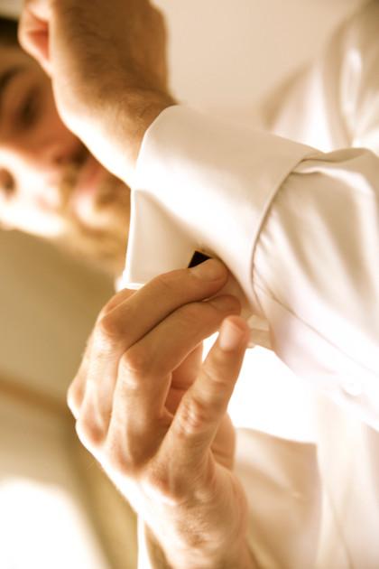 préparation du mariés