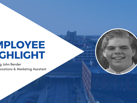 Employee Highlight - John Bender, Communications & Marketing Assistant