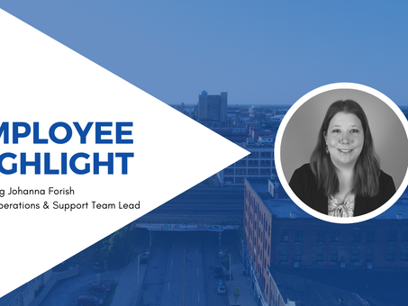 Employee Highlight - Johanna Forish, Sales Operations & Support Team Lead