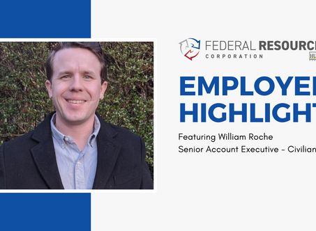 Employee Highlight: William Roche, Senior Account Executive - Civilian