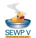 NASA SEWPV Logo (Rubber Duck in Bowl of Soup)