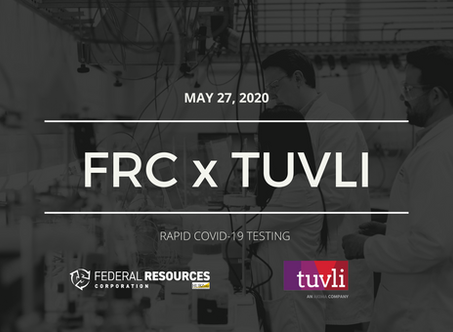 FRC's Matt Bellair, Partner Tuvli, Earn Kudos for Fast COVID Test Analyzer, Rapid ATO Approval