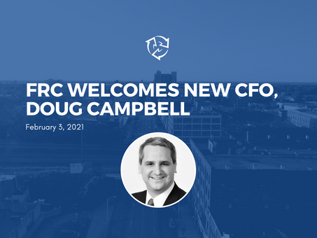 FRC Welcomes New Chief Financial Officer, Mr. Douglas Campbell