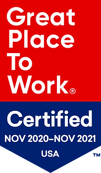 Great Place to work Certified Banner (Nov 2020-Nov 2021 USA)