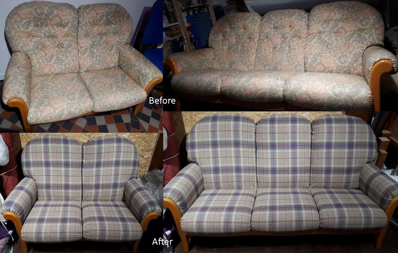 Cintique sofas