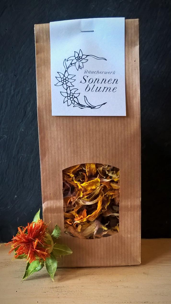 Sonnenblumen Räucherwerk, Patte de Lion