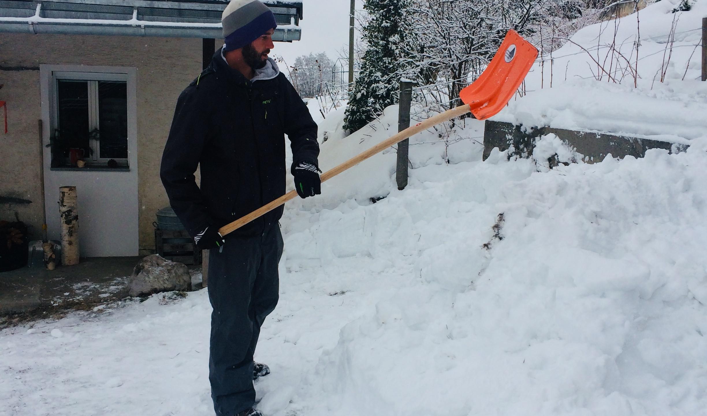 Schneeiglu bauen!