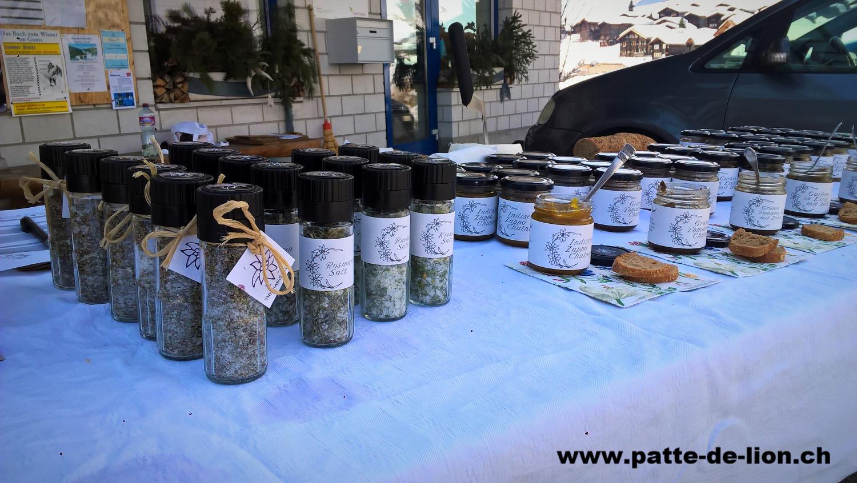 Salze und Eingemachtes von Patte de Lion