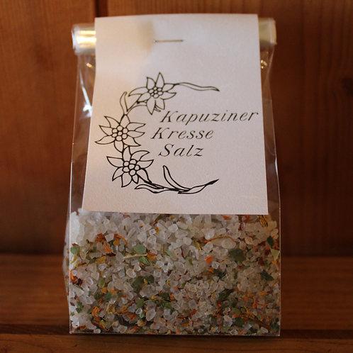 Kapuzinerkresse-Salz im Beutel