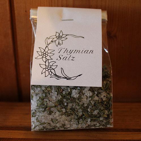 Thymian-Salz im Beutel