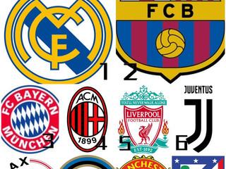【#世界足球討論區📺】英國BBC最近官宣了歐洲球隊的排名,依據非常難的加減乘除算法來算的,利物浦超越曼聯,成果如下:  如果讓你來排名現時最強的排名你會怎麼排前三名呢?