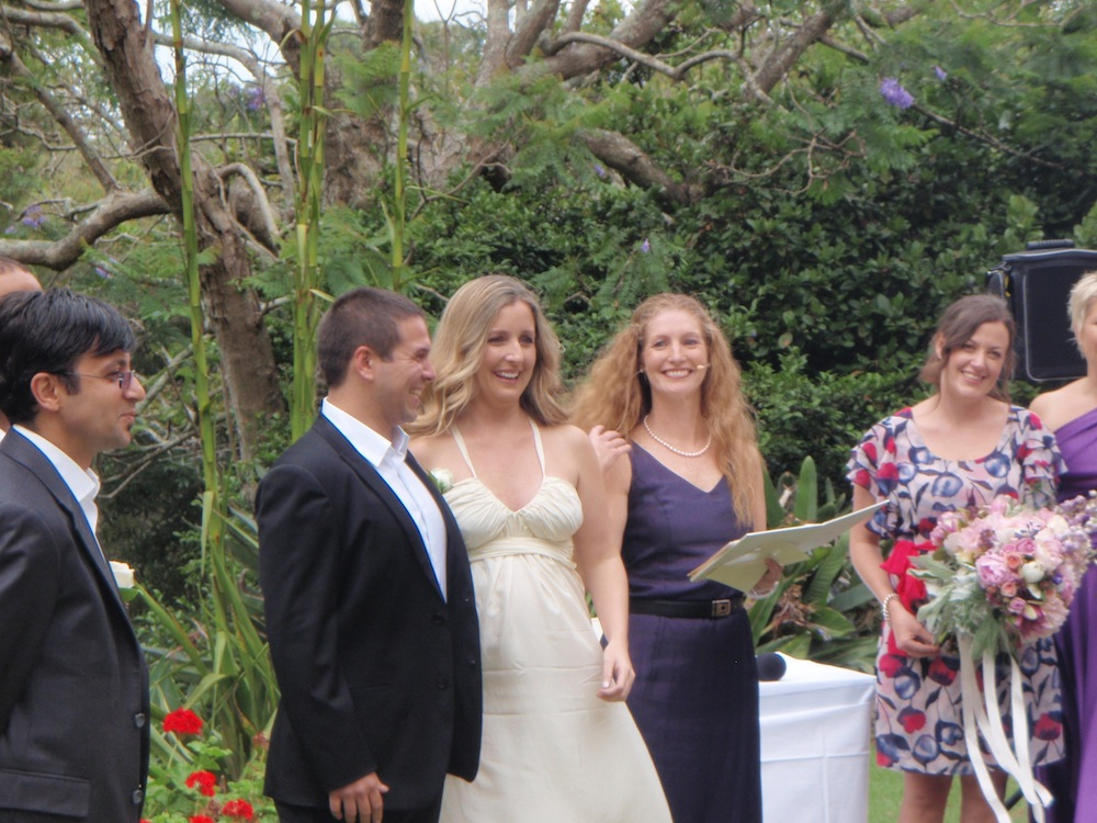 A wedding and a family
