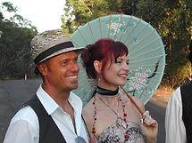 Bohemian Wedding Celebration, Umbrella, Dress up, Style