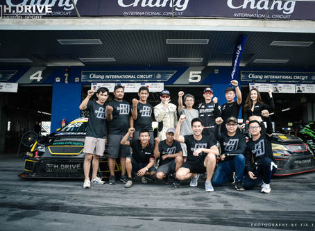 H.DRIVE RACING TEAM got  champions of the year 2019, Idemitsu Super Turbo Thailand