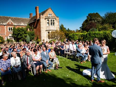 Priors Barn Brockworth Wedding for Katie and David.