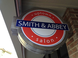 Smith & Abbey Sign