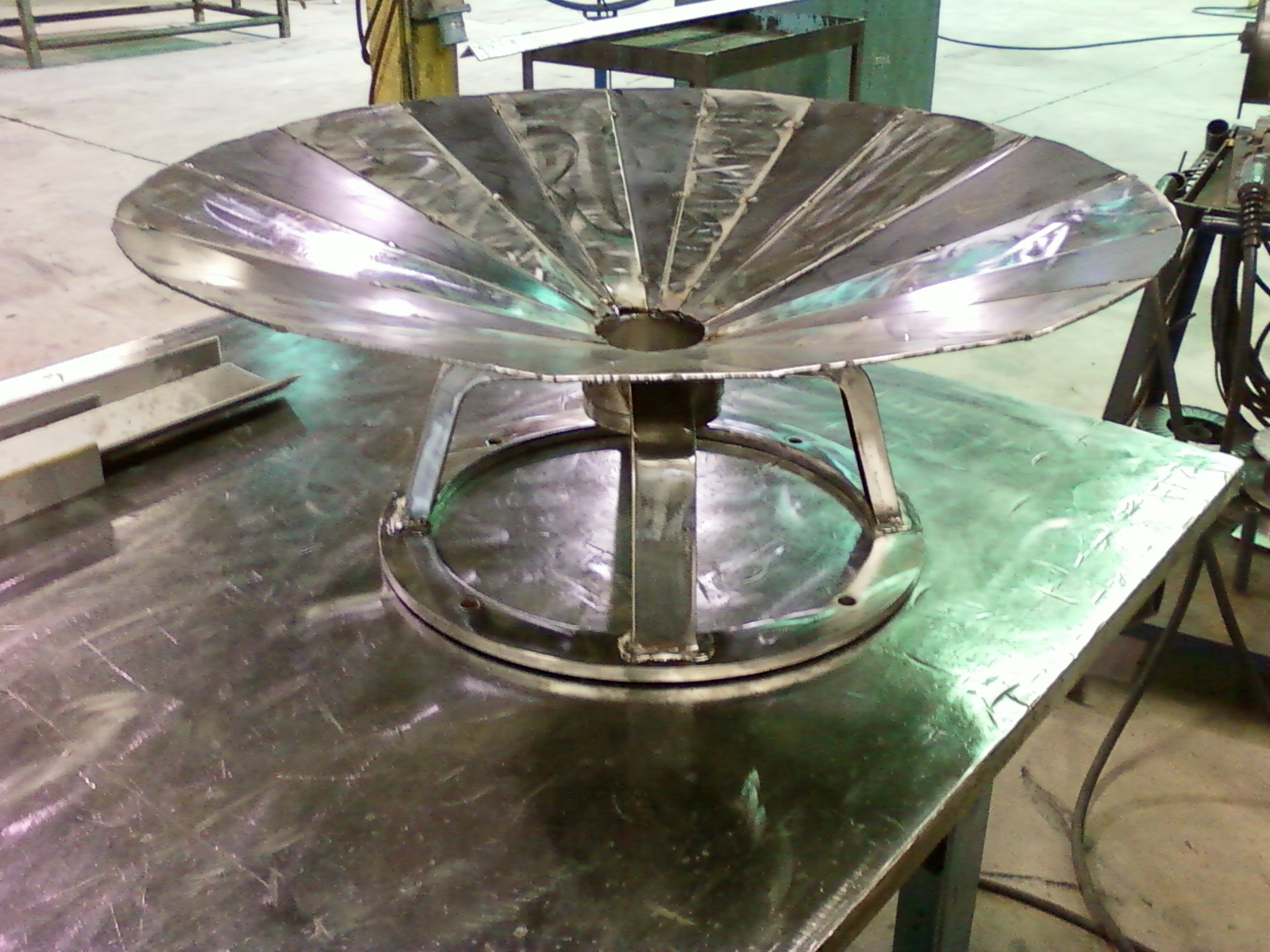 Stainless & Carbon Steel Firepit