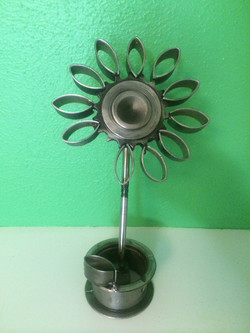 Flower from Engine Parts